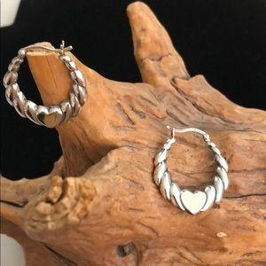 Sterling silver Herat earrings